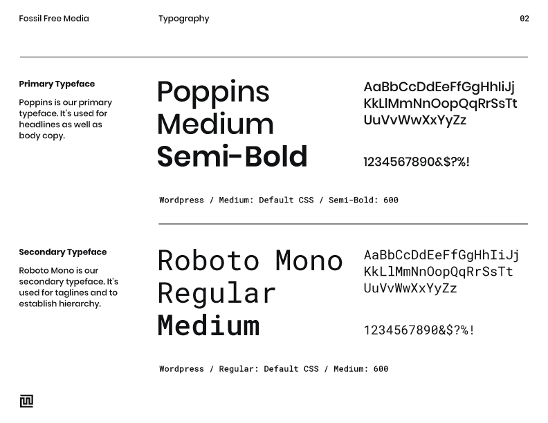 Fossil-Free-Media-Brand-Style-Guide-(Typography)